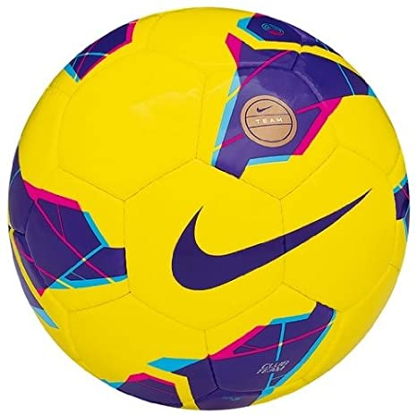 Football Nike Club Team HI-VIS yellow. Size 5.: Amazon.es ...
