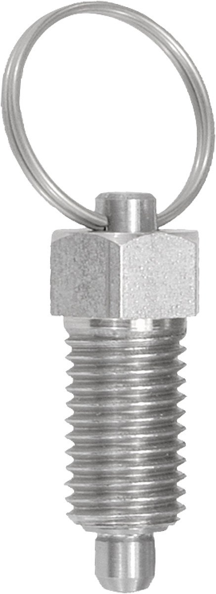 Toggle Lock Bolt Size 3 M16/R, D = 8 Stainless Steel, Pack of 1 K0342.13308