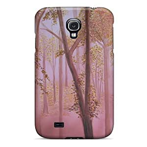 Cute Appearance Cover/tpu IudAgNk3270jPjTp Autumn Woods Case For Galaxy S4