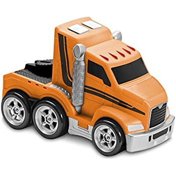 amazon com kid galaxy soft and squeezable big rig truck toddler