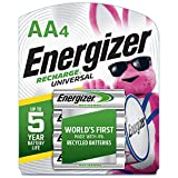 Energizer Recharge Value Charger with 4 AA NiMH
