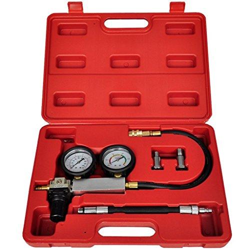 Festnight Cylinder Leak Detector Engine Compression Tester Gauges Set (Tester Cylinder)
