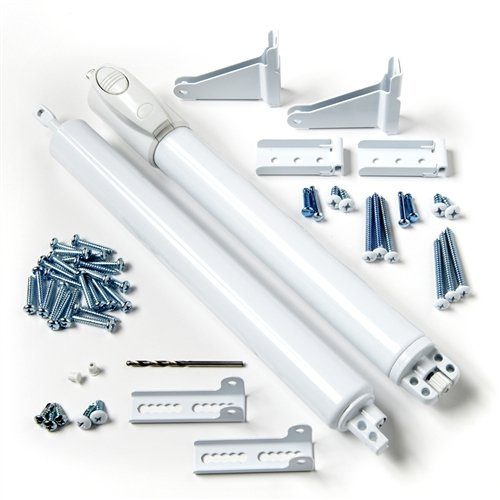 - Andersen Storm Door Top and Bottom Closer Kit in White Color