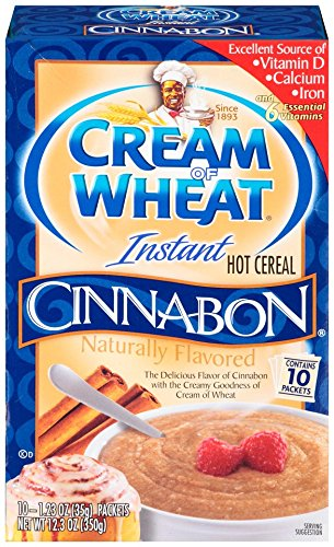 Cream of Wheat Instant Hot Cereal Cinnabon 12.5OZ (Pack of 24) by Cream of Wheat (Image #2)