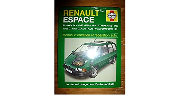 Renault Espace (French service & repair manuals) (French Edition): 9781859602096: Amazon.com: Books