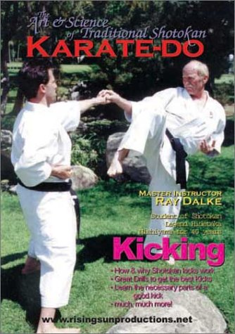 Shotokan Karate's Ray Dalke Kicking - d