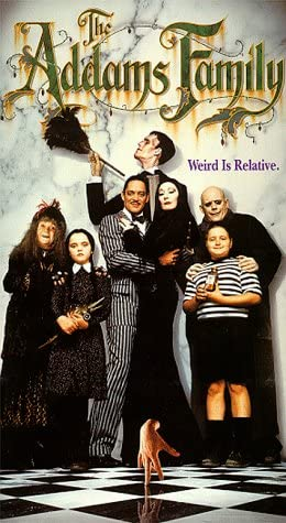 Amazon Com The Addams Family Vhs Anjelica Huston Raul Julia Christopher Lloyd Christina Ricci Movies Tv