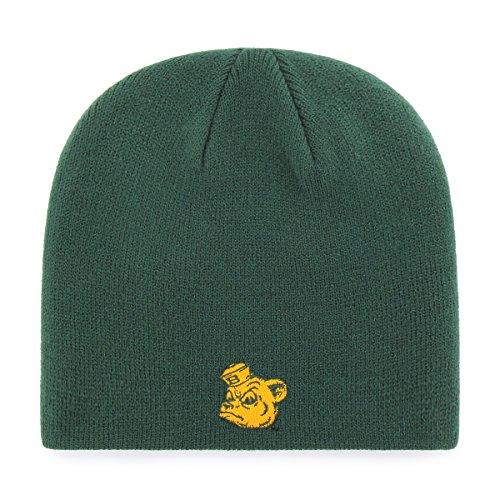 OTS NCAA Baylor Bears Beanie Knit Cap, Dark Green, One Size -