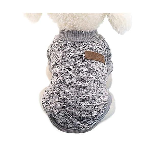 Idepet-Ropa-para-mascotas-jersey-de-forro-polar-para-perros-y-gatos-S-Gris