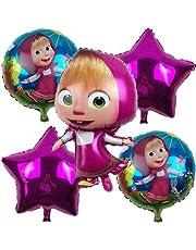 Masha Foil Balloons Decor Shower Birthday Party Supplies lot