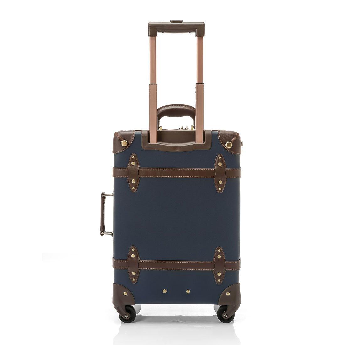 2c84cb7ef Amazon.com | UNIWALKER Vintage Suitcase ABS Rolling Luggage with TSA Lock  (20