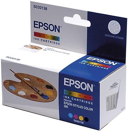 Epson S020138 Tintenpatrone Mehrfarbig Bürobedarf Schreibwaren