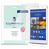 xperia z3 compact with warranty - iLLumiShield - Sony Xperia Z3 Tablet Compact Matte Screen Protector with Lifetime Replacement Warranty / Anti-Glare HD Clear Film / Anti-Bubble & Anti-Fingerprint / Premium Japanese High Definition Invisible Crystal Shield - [2-Pack] Retail Packaging