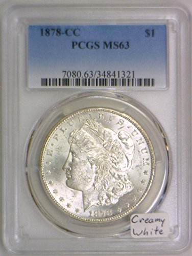 1878 CC Morgan Dollar MS-63 PCGS