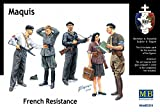 Master Box 3551 French Resistance Maquis 1:35 Plastic Kit Maquette