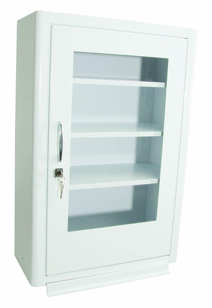 North by Honeywell 34300EB Cabinet withLock - Plexiglas Door - 18-Inch x 27-Inch x 8-Inch