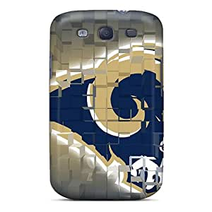 High Quality Cell-phone Hard Covers For Samsung Galaxy S3 (fnH15029lmCz) Allow Personal Design HD St. Louis Rams Series