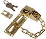 The Hillman Group 852232 Keyed Door Chain Lock