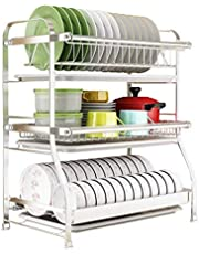304 stainless steel drain drain,sink,drain,dishes,dishes,storage box,three-tier household