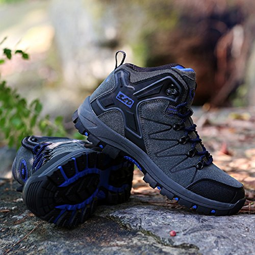 Hiking Trekking Gray Women's Waterproof Boots Low Shoes Men's Hiking Rise tqgold and Outdoor qwxFS6vE7n
