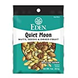 Eden Quiet Moon Nuts, Seeds and Dried Fruit, 1 Ounce (Pack of 12)