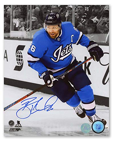 AJ Sports World Blake Wheeler Winnipeg Jets Autographed Aviator Spotlight 8x10 Photo
