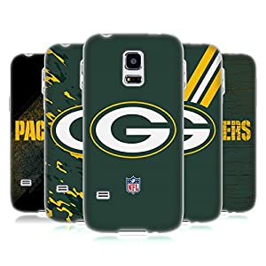 Official NFL Green Bay Packers Logo Soft Gel Case for Samsung Galaxy S5 mini