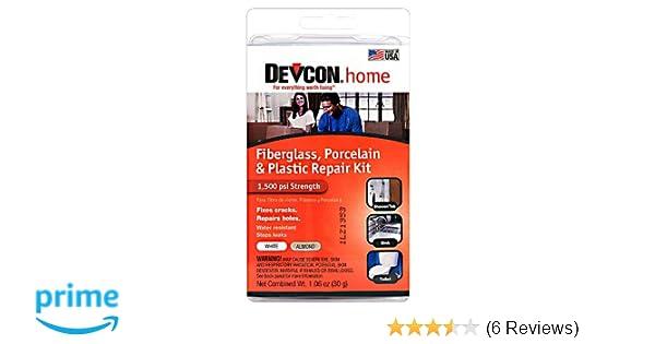Amazon.com: Devcon (90216-6PK) Fiberglass, Porcelain and Plastic ...
