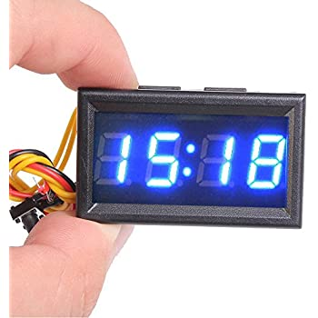small clocks battery operated digital clock4. Black Bedroom Furniture Sets. Home Design Ideas