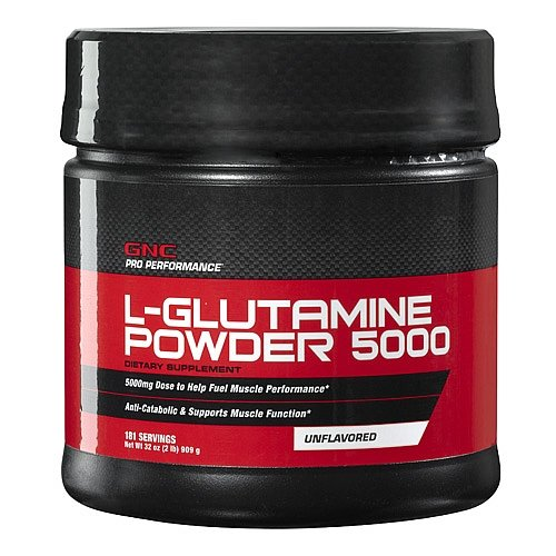 GNC Pro Performancereg L-Glutamine Powder 5000 2 lbs.