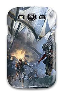 High Grade TheodoreKHorton Flexible Tpu Case For Galaxy S3 - Assassin's Creed: Rogue