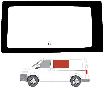 Mano izquierda ventana de fijo transparente para puerta corredera de Volkswagen Transporter T6 (2015): Amazon.es: Coche y moto