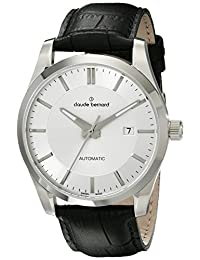 Claude Bernard Men's 80092 3 AIN2 Classic Automatic Analog Display Swiss Automatic Black Watch