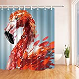 Giant Bird Shower Curtains By KOTOM Bath Curtains, 72X72 Inches