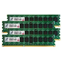 Transcend JetMemory 16 GB DDR3-1333 ECC Registered DIMM 2Rx8 TS16GJMA533N (4GB x 4 | Mac Compatible) 16 DDR3 1333 (PC3 10600) DDR3 1600