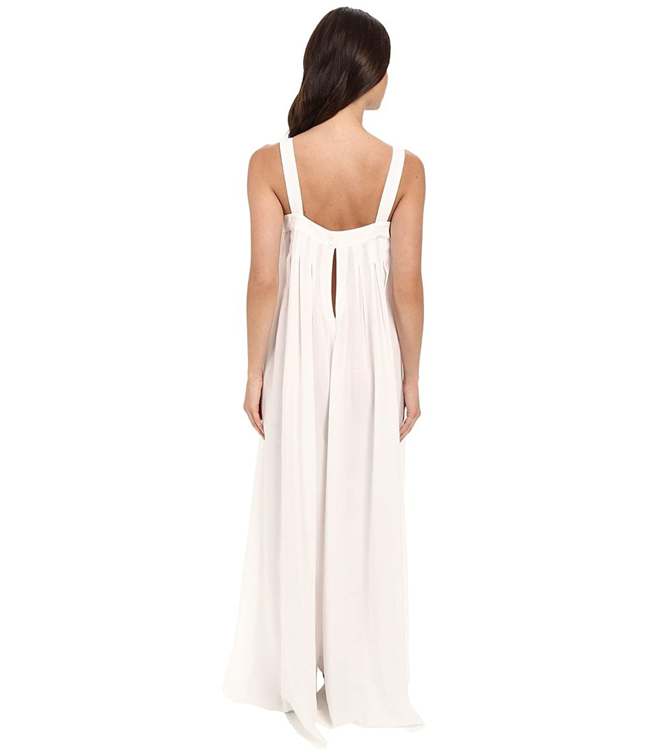 6 Shore Road by Pooja Womens Black and White Holiday Jumpsuit Cover-Up