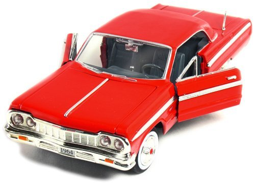 (1964 Chevy Impala Hardtop 1:24 Scale (Red))