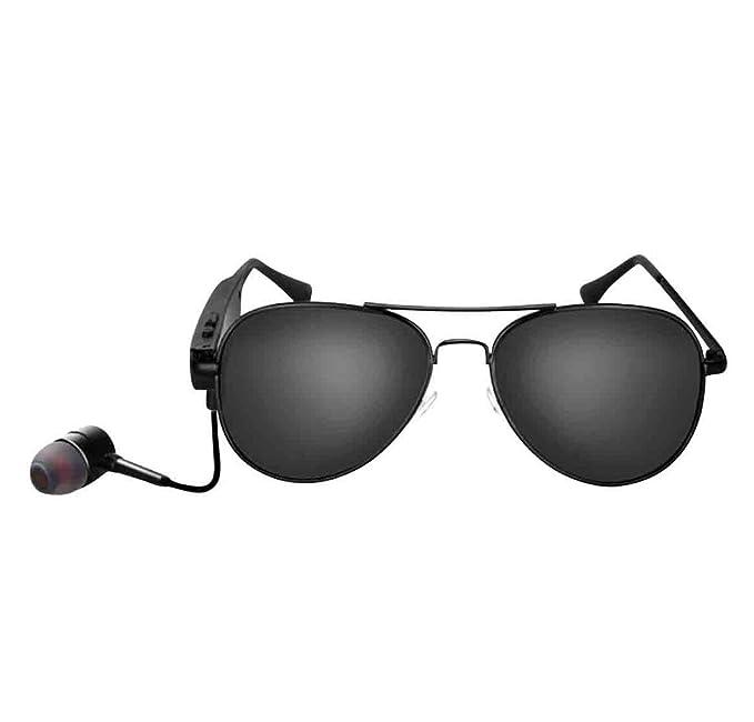 Gafas De Sol Polarizadas Para Hombre Smart Bluetooth Stereo Music Eyeglasses,OneColor-OneSize