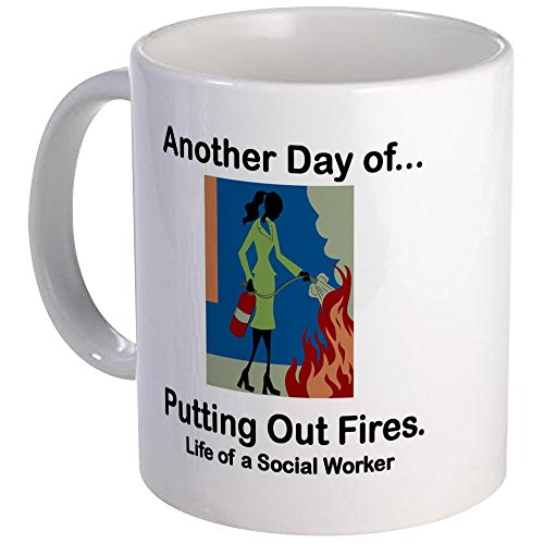 (CafePress - Life Of A Social Worker Mug - Unique Coffee Mug, Coffee Cup)