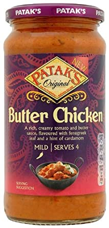 Pataks Butter Chicken Sauce 500 G Pack Of 6