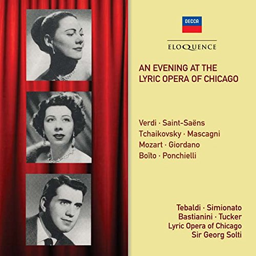 : Evening at the Lyric Opera of Chicago