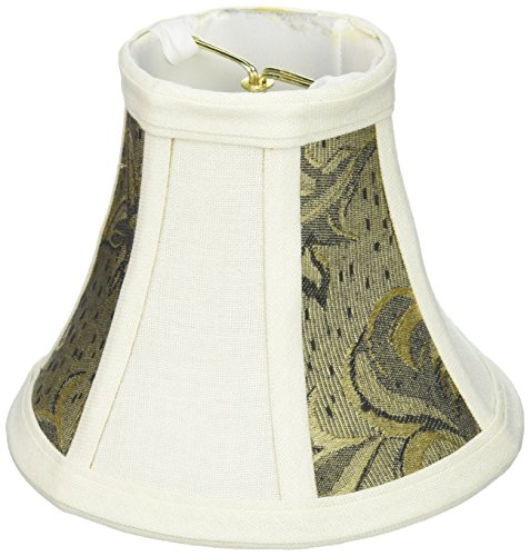 - Lite Source CH575-6 6-Inch Lamp Shade, Wheat and Wheat Two Tone