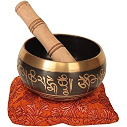 Tibetan Singing Bowls for Meditation 4.25 Inches 630 Grams