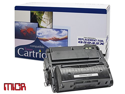 (Remanufactured Toner Cartridge Replacement for HP SERIES 4250-4350 PRINTER CARTRIDGE- (MICR) )