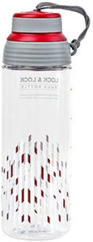 CZPF A Prueba de Fugas Botella deAgua Delgada Botella deAgua para Deportes Taza deAgua Deportes 600 ml Burbuja Té Taza de plástico Taza Genuina TazaA Prueba de Fugas Hervidor portátil