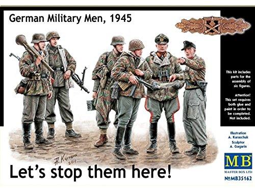 Master Box MB35162 - 1/35 Deutsche Soldaten Figuren 1945