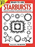 Ready-to-Use Starbursts, Ted Menten, 0486250504