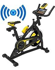 Nero Sports Bluetooth spinning aerobics motionscykel inomhus träning fitness cardio spin cykel pulsmätare nivå ..