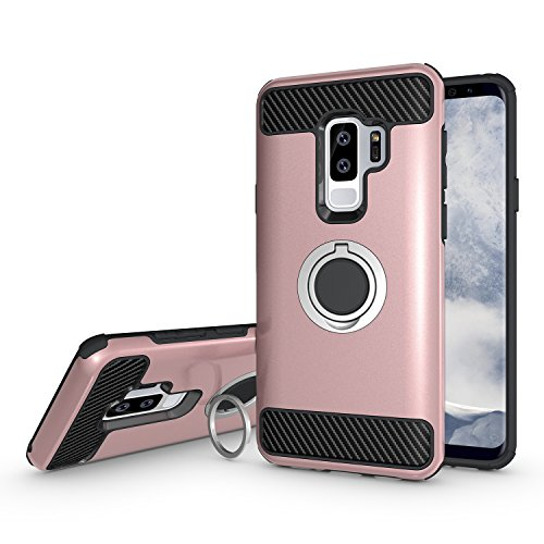 the latest 7348c ea8f4 Best Samsung Galaxy S9 Plus Ring Kickstand Cases