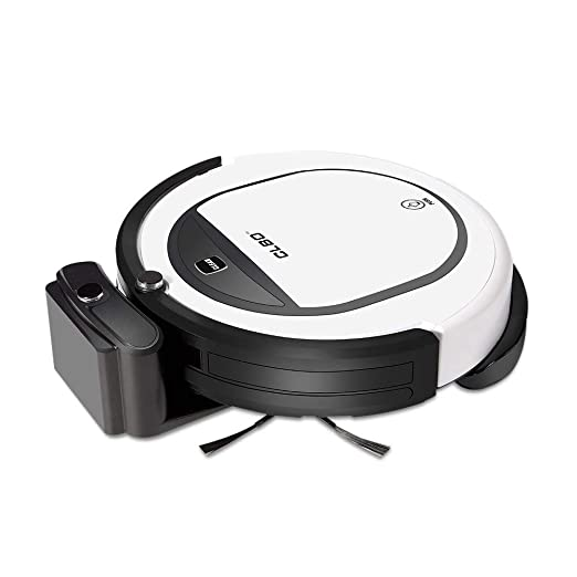 QYLT Robot Aspirador, Función de Reserva Temporizada, Super-Thin ...